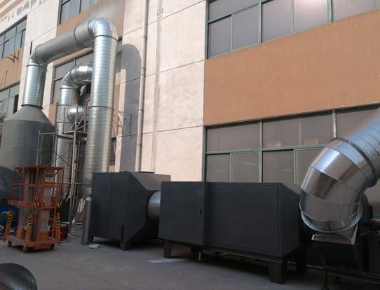食品厂废气处理工程